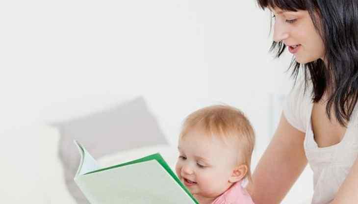 bebê leitura