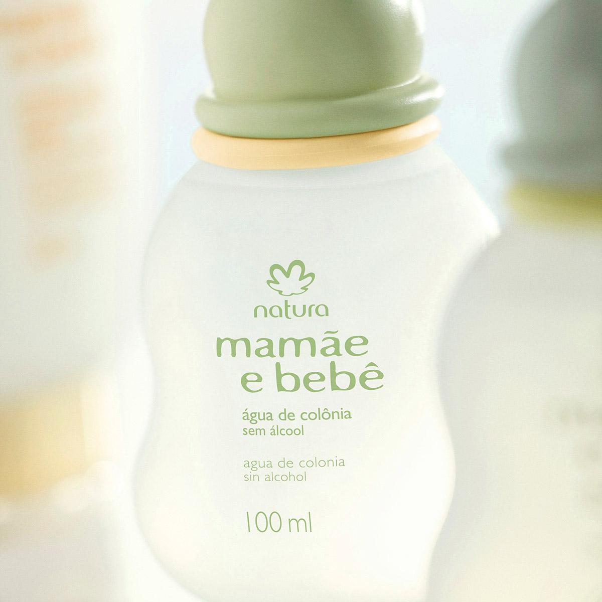 Água de Colônia Sem Álcool Mamãe e Bebê - 100ml - 06417