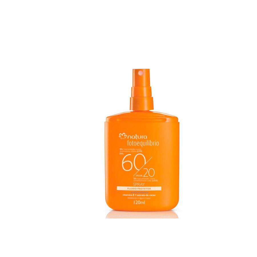 Fluido Protetor Spray FPS 60 / FPUVA 20 Fotoequilíbrio - 120ml - 37541