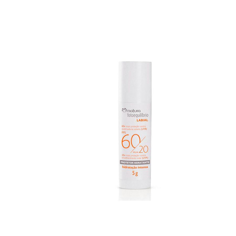 Protetor Hidratante Labial FPS 60 / FPUVA 20 Fotoequilíbrio - 5g - 37652