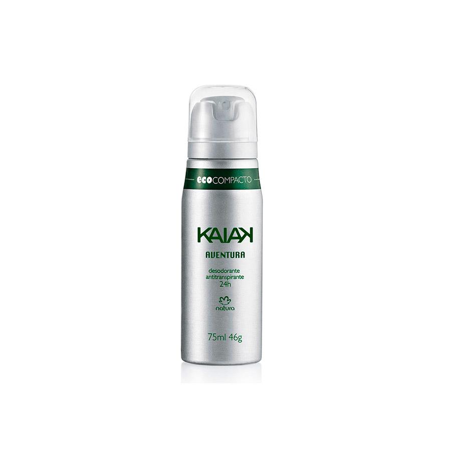 Desodorante Antitranspirante Aerossol Masculino Kaiak Aventura - 75ml/46g - 46434