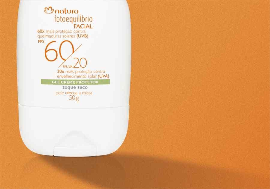 Gel Creme Protetor Facial FPS 60 Pele Oleosa a Mista Fotoequilíbrio - 50g - 47421
