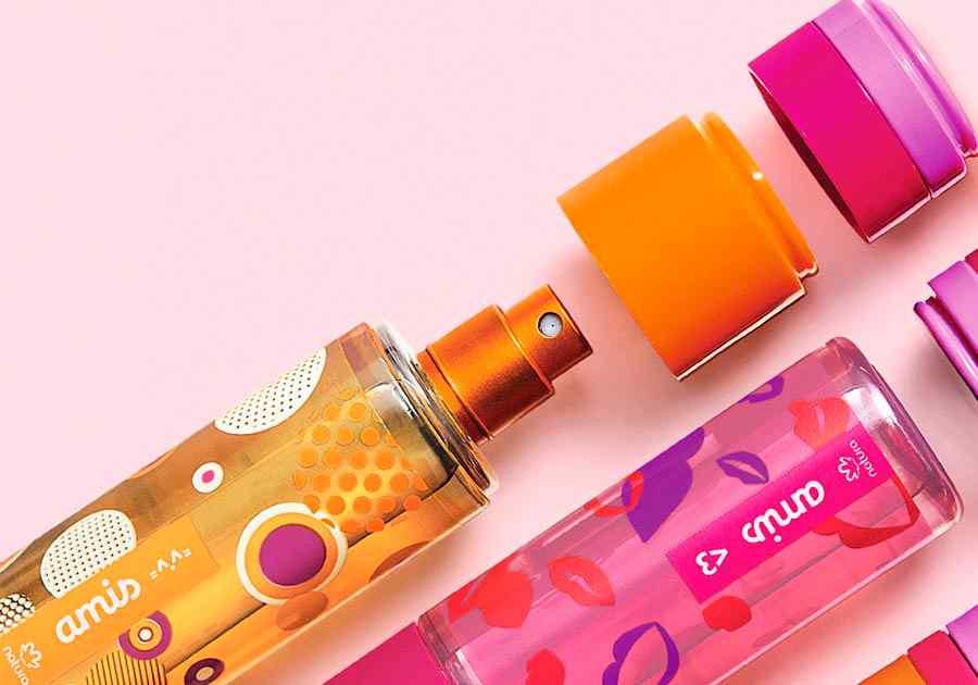 Conjunto Amis =^.^= - Desodorante Colônia + Balm Labial - 47826