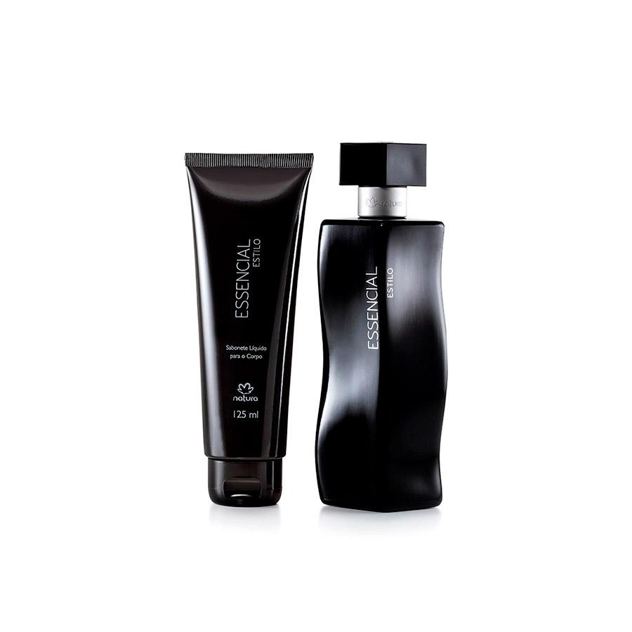 Presente Natura Essencial Estilo Feminino - Sabonete Líquido + Deo Parfum + Embalagem Desmontada - 52173