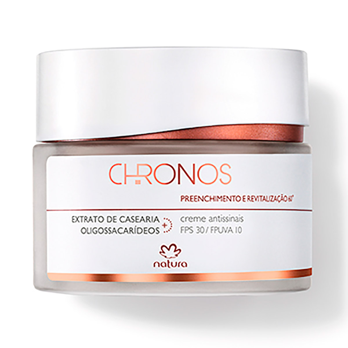 Creme Antissinais 60+ Preenchimento e Revitalização Chronos - 40g - 57985