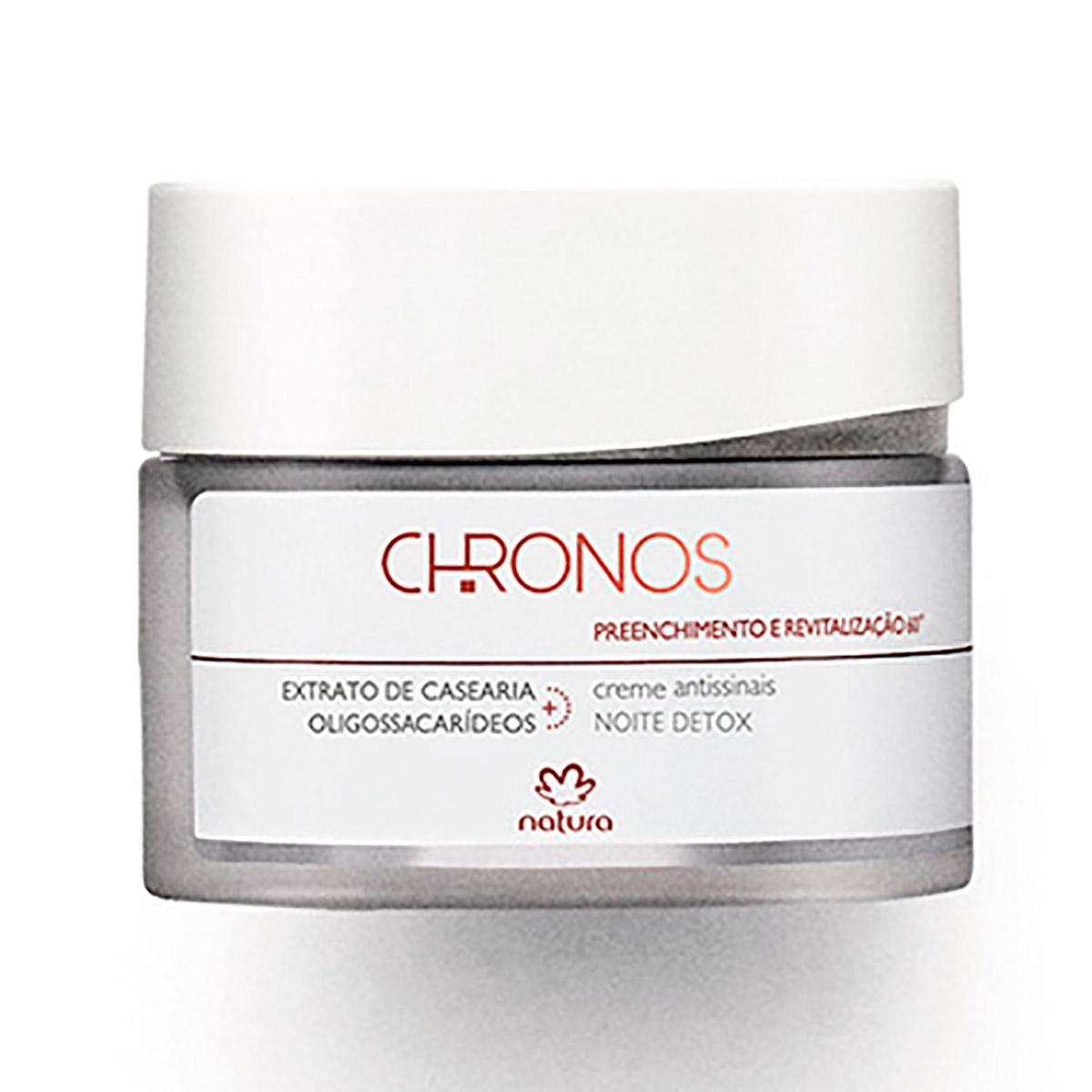 Creme Antissinais 60+ Noite Preenchimento e Revitalização Chronos - 40g - 57986