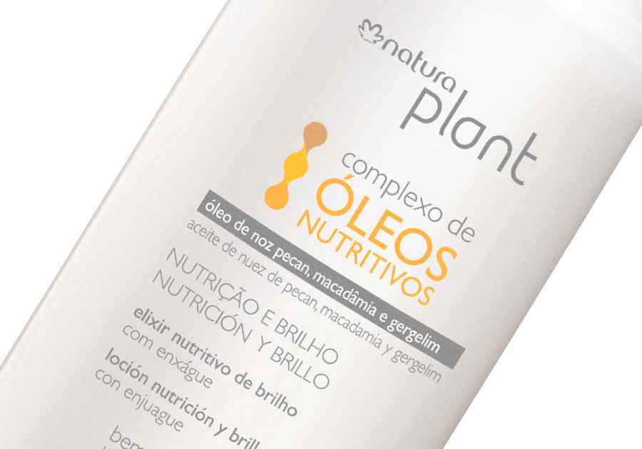 Elixir Nutrição e Brilho Plant - 100ml - 58807