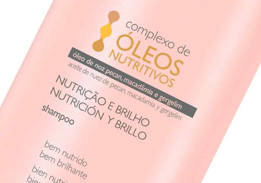 Shampoo Nutrição e Brilho Plant - 300ml - 60000