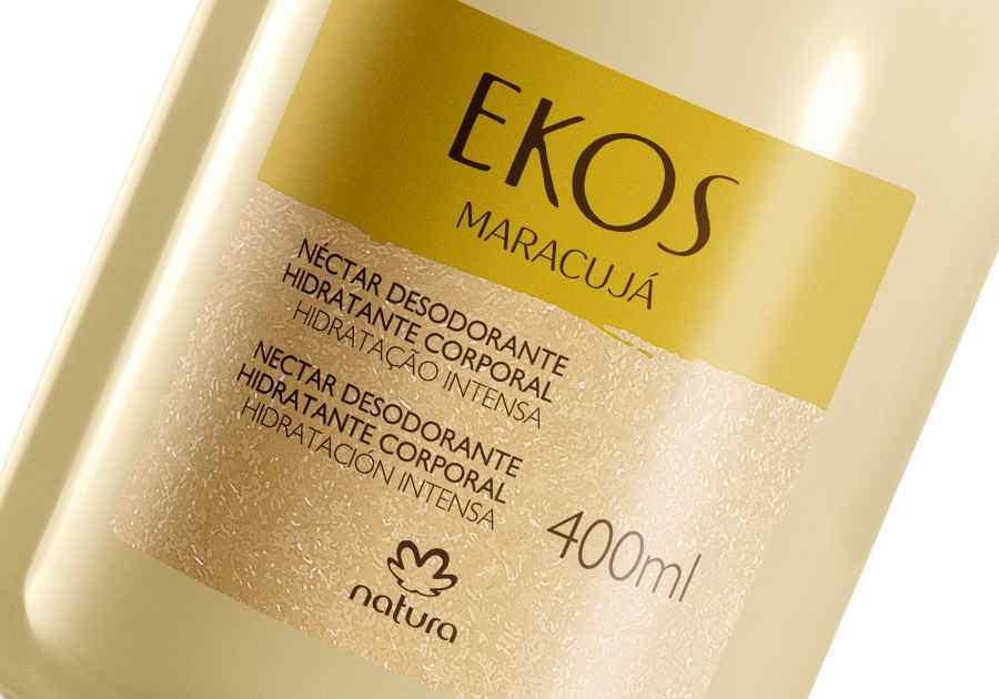 Néctar Desodorante Hidratante para o Corpo Ekos Maracujá - 400ml - 62529