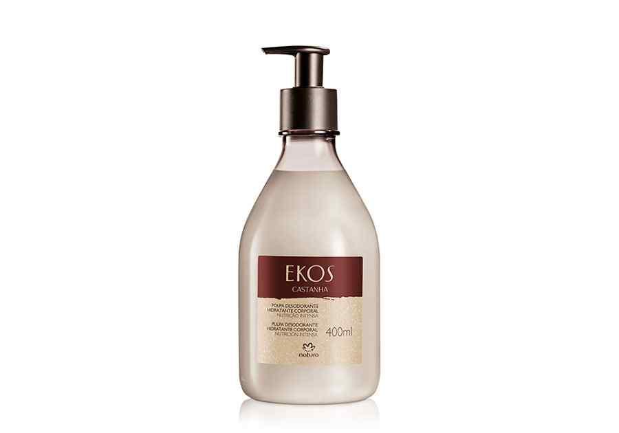 Polpa Desodorante Hidratante Corporal Castanha Ekos - 400ml - 62533