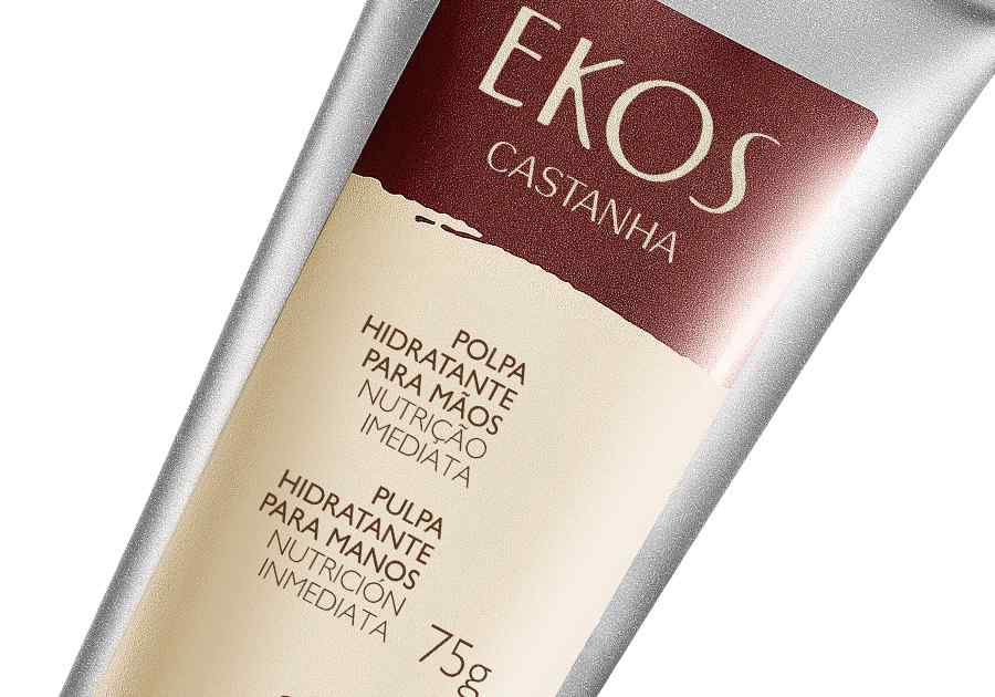 Polpa Hidratante para Mãos Castanha Ekos - 75g - 62535