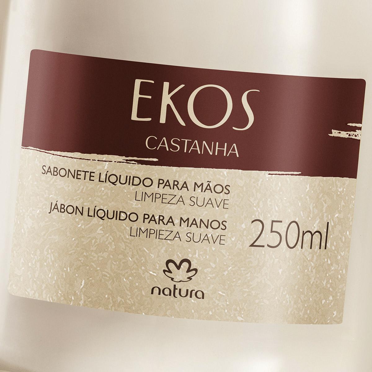 Sabonete Líquido para Mãos Castanha Ekos - 250ml - 62943