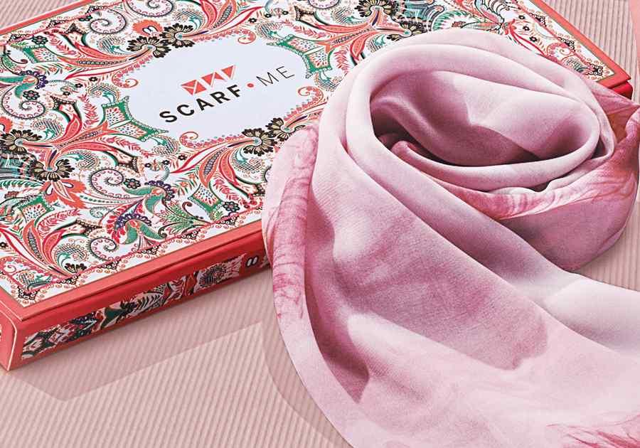 Lenço Scarf Me Esta Flor - 63395