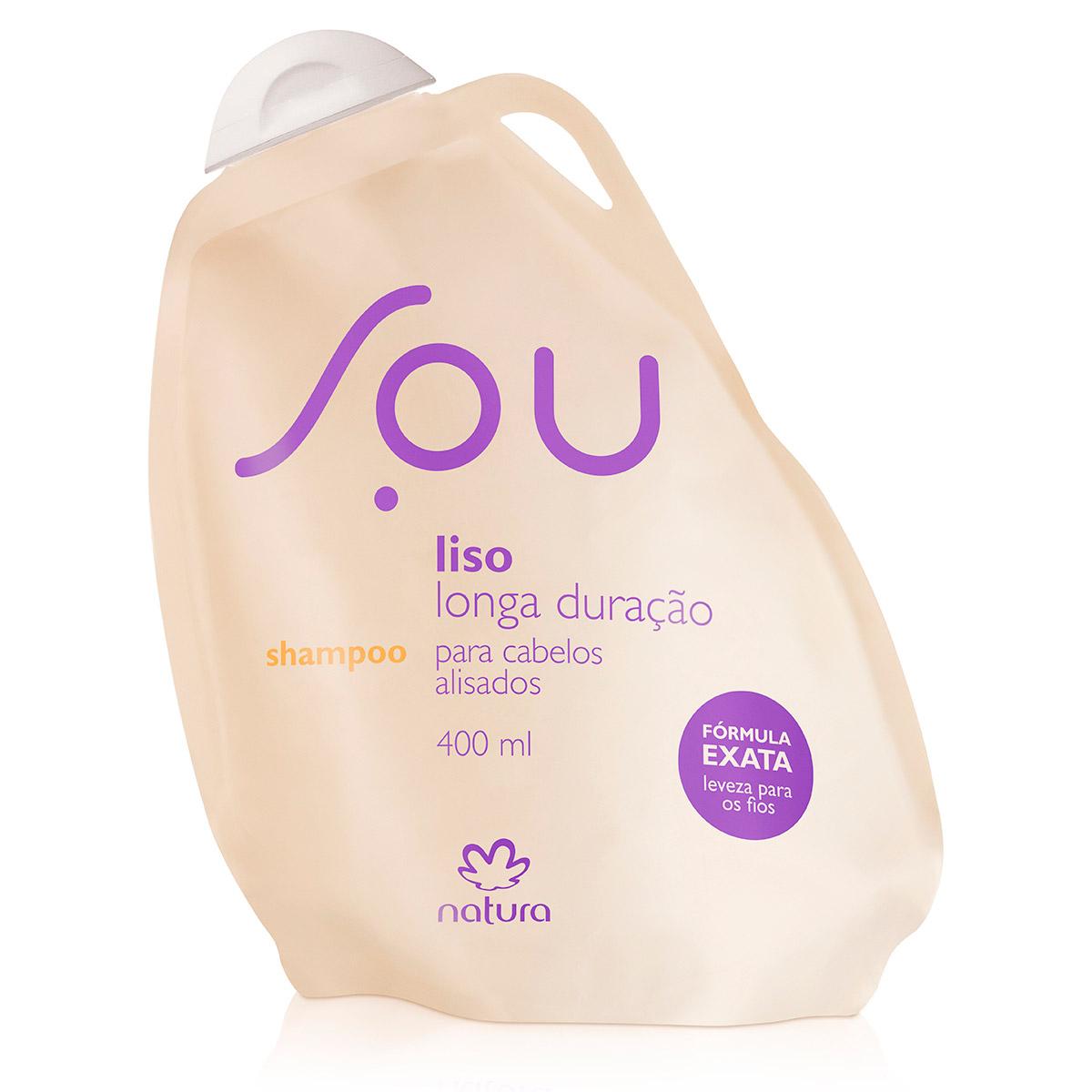 Shampoo Liso Longa Duração SOU - 400 ml - 63894
