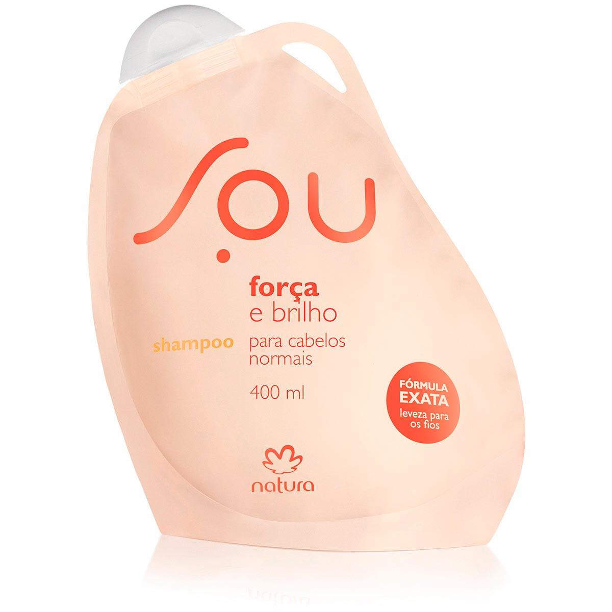 Shampoo Força e Brilho SOU - 400ml - 63906