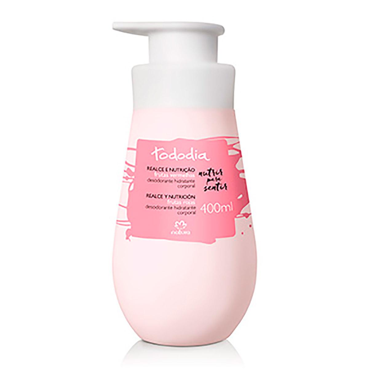 Desodorante Hidratante Corporal Frutas Vermelhas Tododia - 400ml - 63946