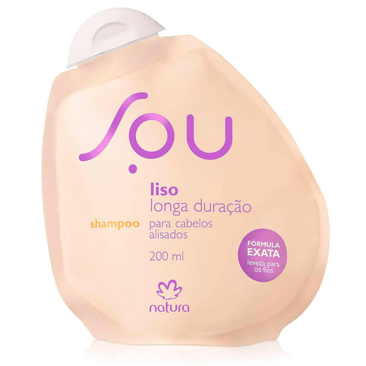 Shampoo Liso Longa Duração SOU - 200ml - 63979