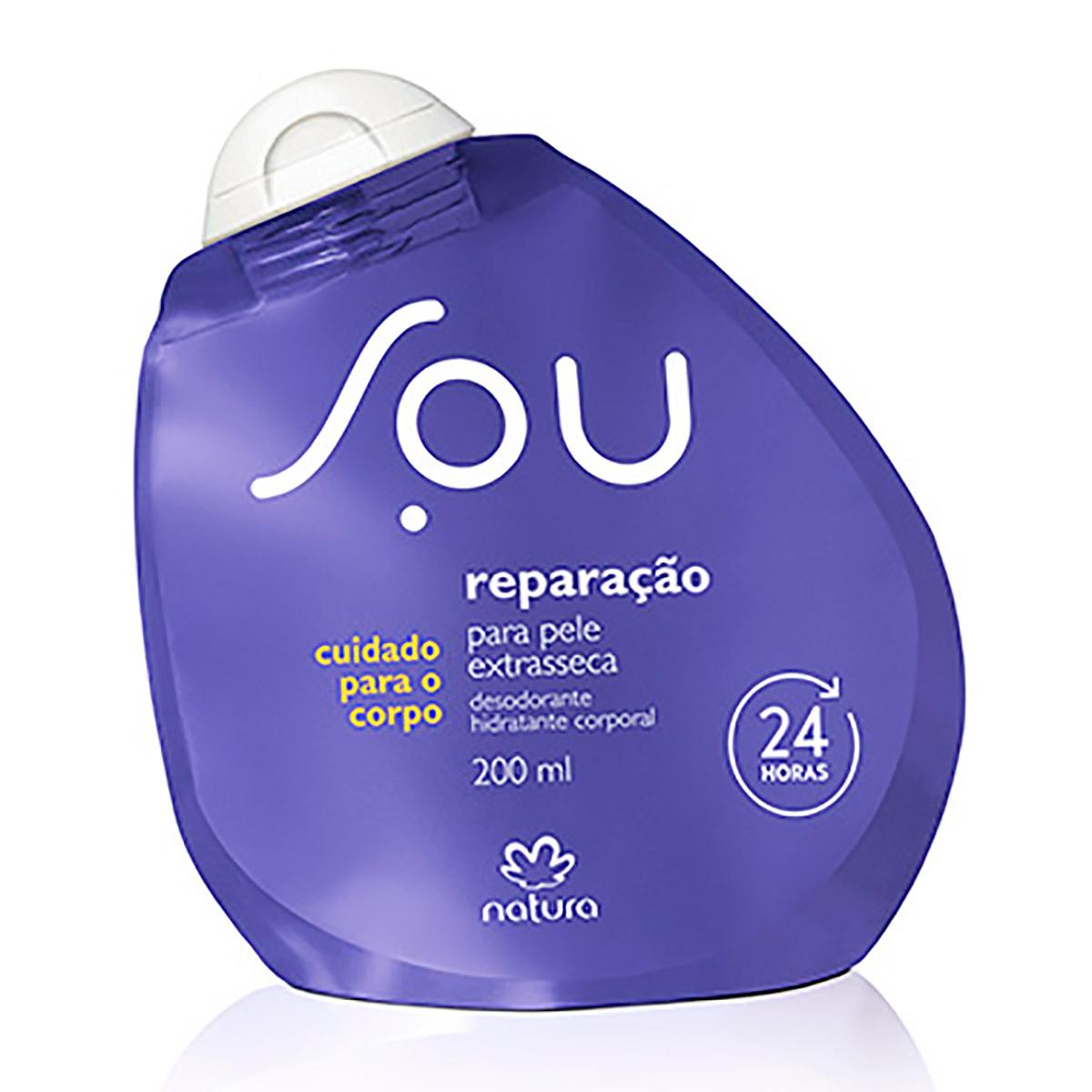 Desodorante Hidratante Corporal Reparação para Pele Extrasseca SOU - 200ml - 64011