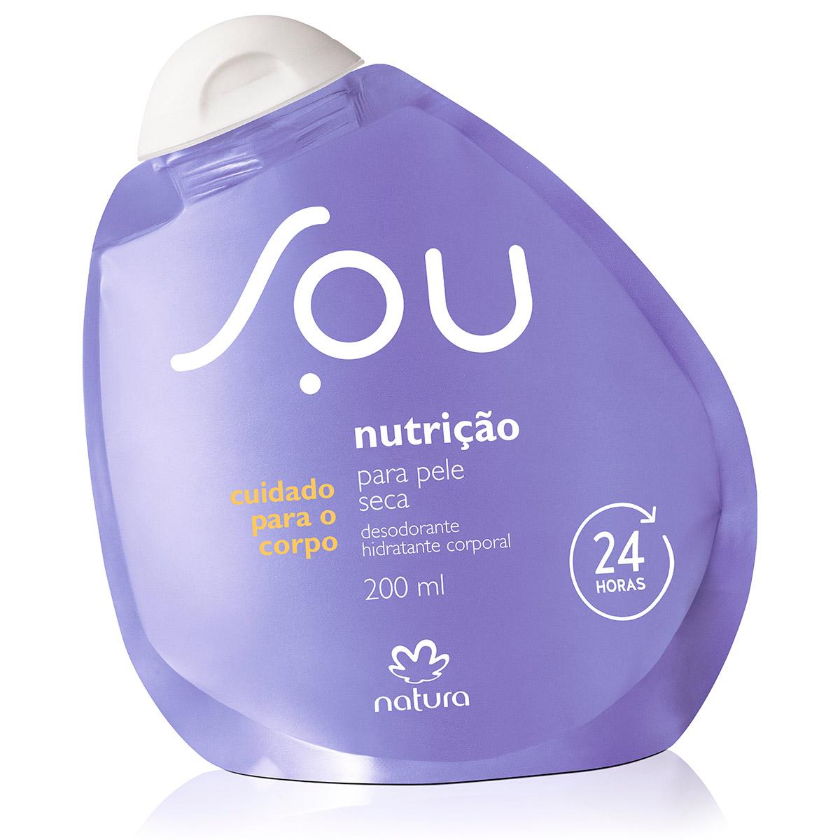 Desodorante Hidratante Corporal Nutrição para Pele Seca SOU - 200ml - 64013