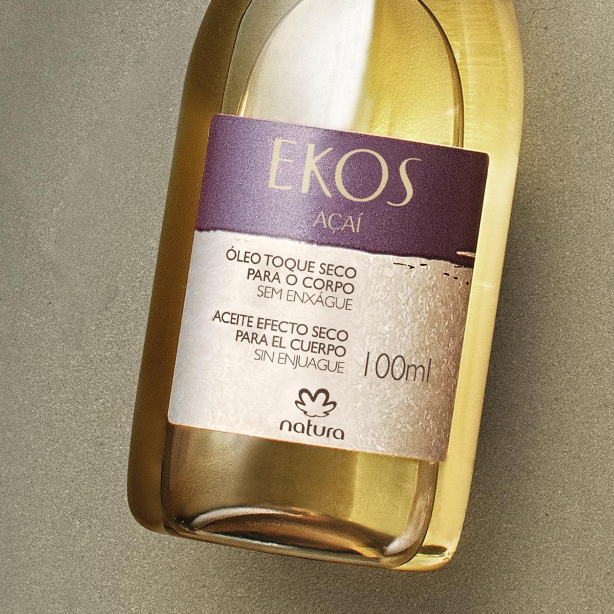 Óleo de Toque Seco Desodorante Hidratante Açaí Ekos - 100ml - 65442