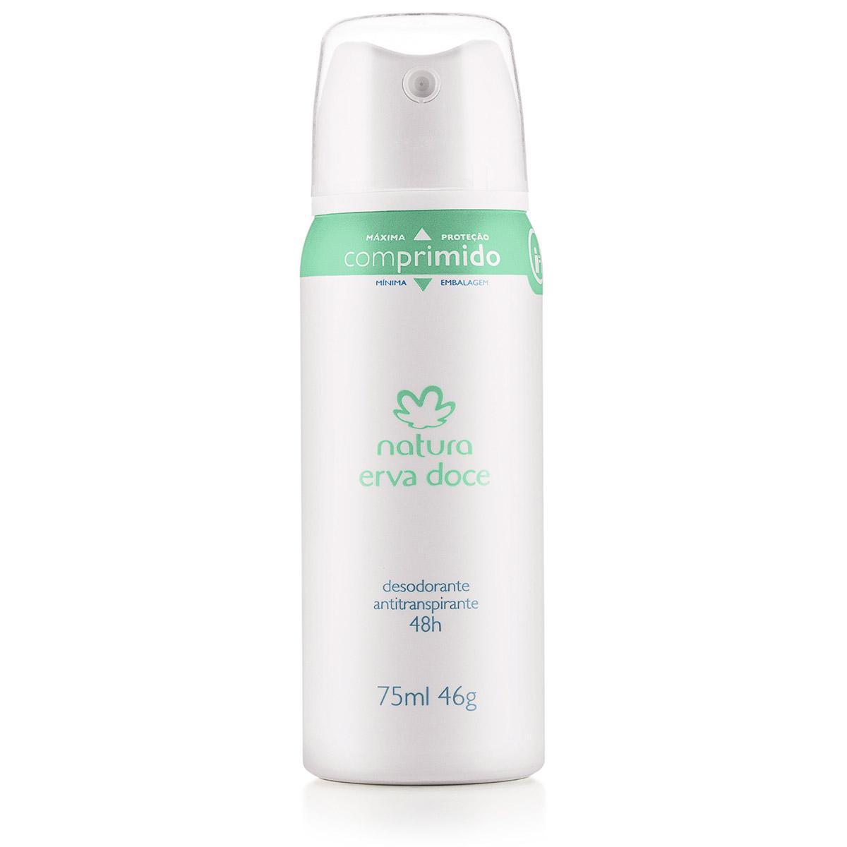 Desodorante Antitranspirante Aerossol Erva Doce Feminino - 75ml - 67987