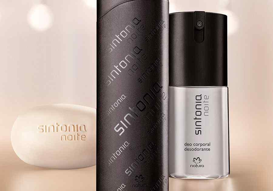 Presente Natura Sintonia Noite - Desodorante Colônia + Deo Corporal + Sabonete em Barra + Embalagem - 78013