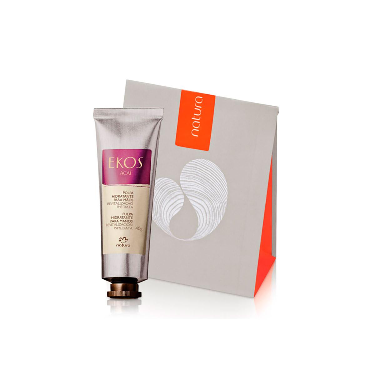 Presente Natura Açaí - Polpa Hidratante para Mãos + Embalagem - 78399