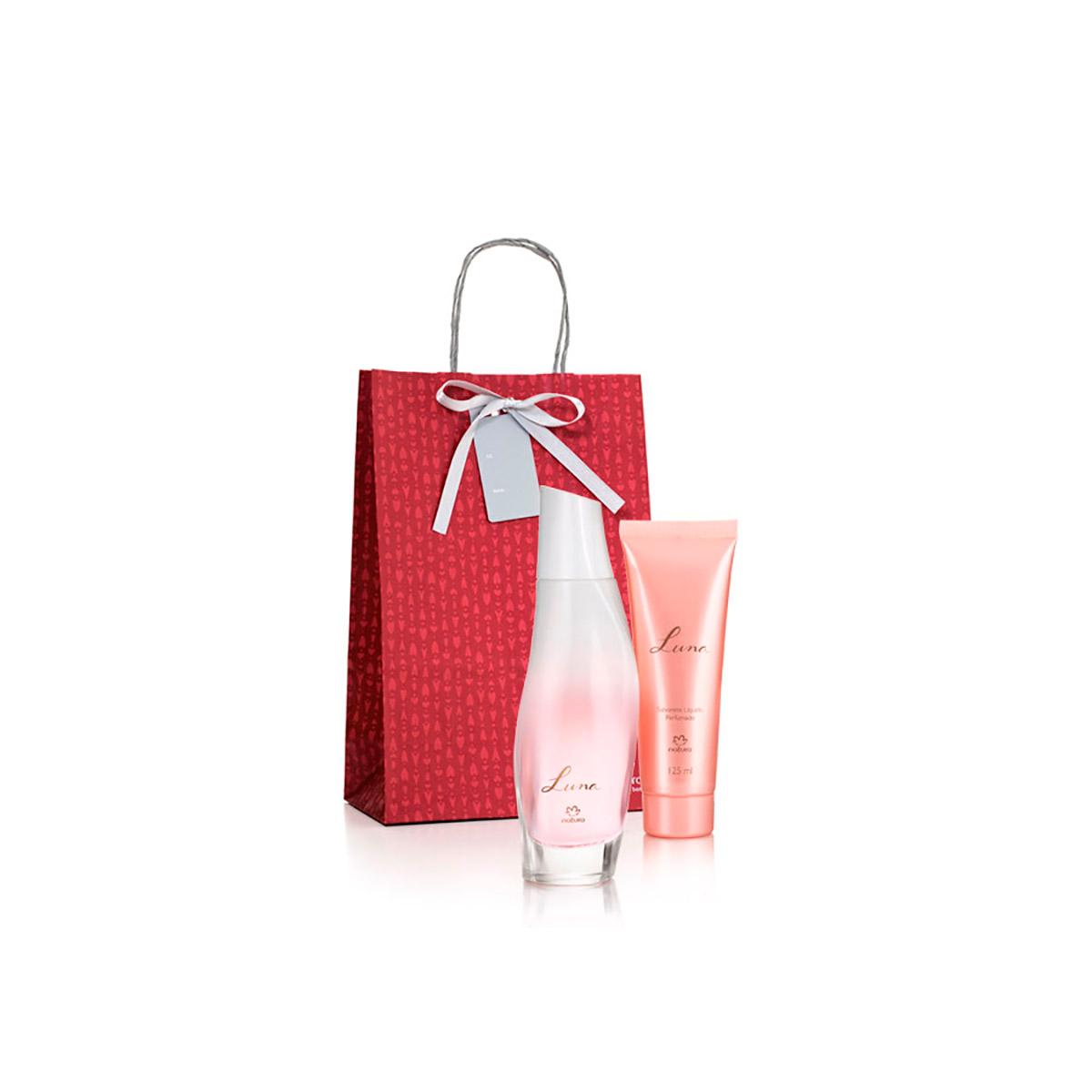 Presente Natura Luna - Desodorante Colônia + Sabonete Líquido + Embalagem - 78402