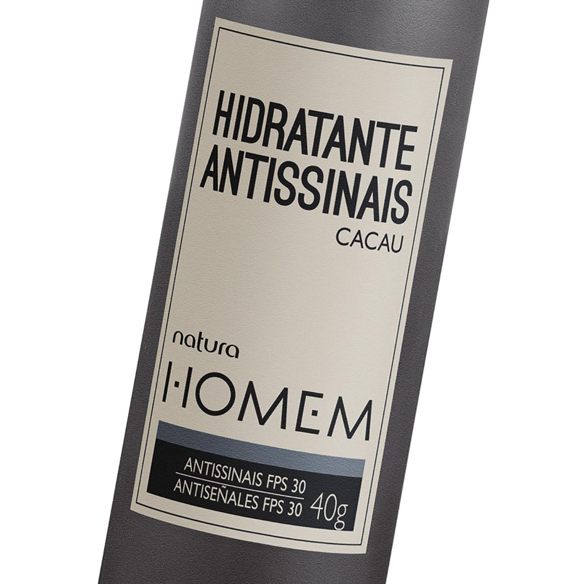 Hidratante Antissinais Natura Homem - 40g - 78933
