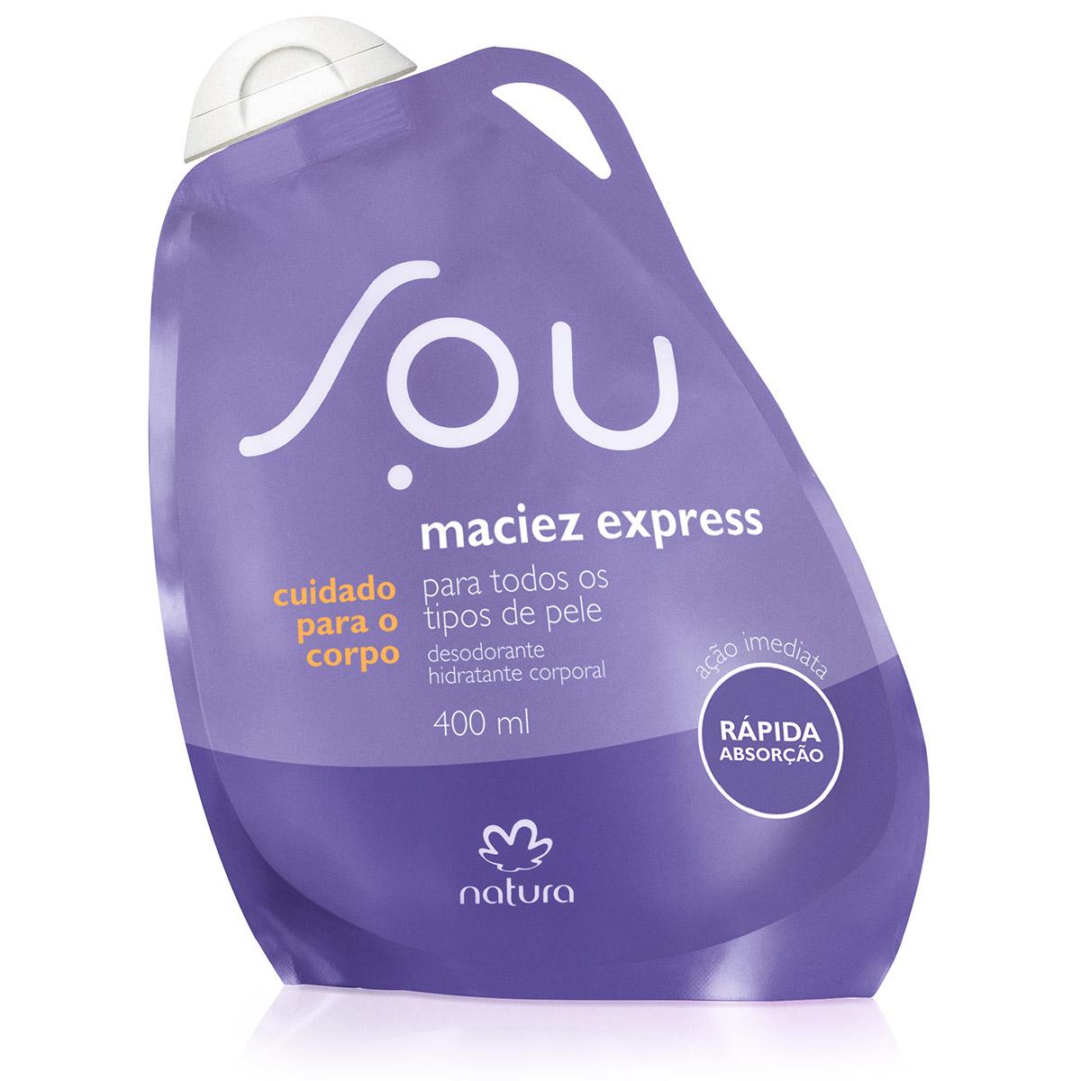 Desodorante Hidratante Corporal Maciez Express SOU - 400ml - 78971