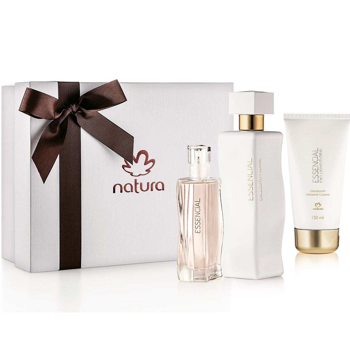Presente Natura Essencial Exclusivo Floral Feminino com Miniatura - 80422