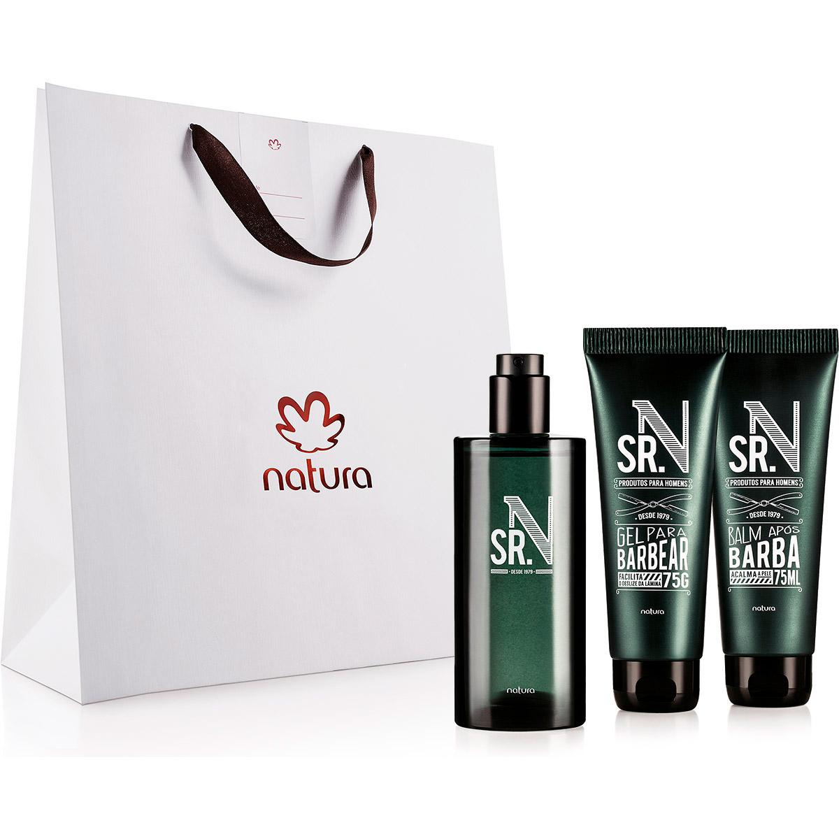 Presente Natura Sr N Perfumaria e Barba - 80423