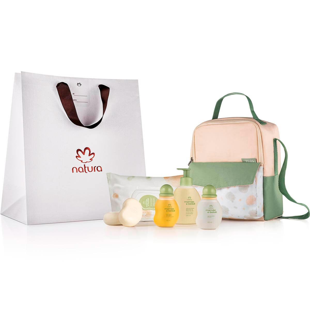 Presente Natura Mamãe e Bebê com Bolsa Multiuso - 85368