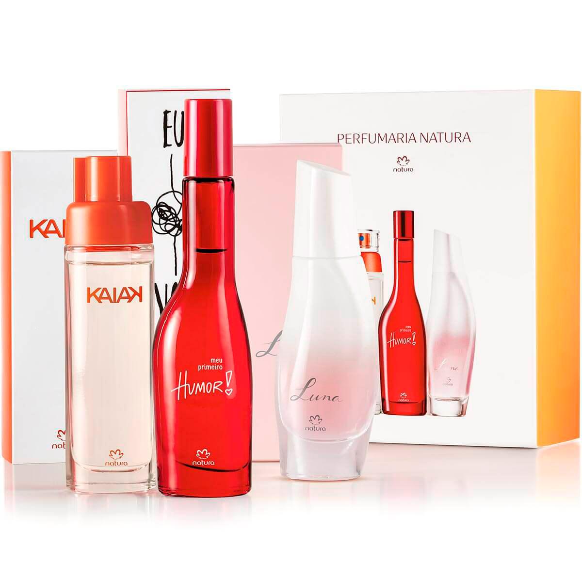 Presente Natura Miniaturas da Perfumaria Feminina - 85419