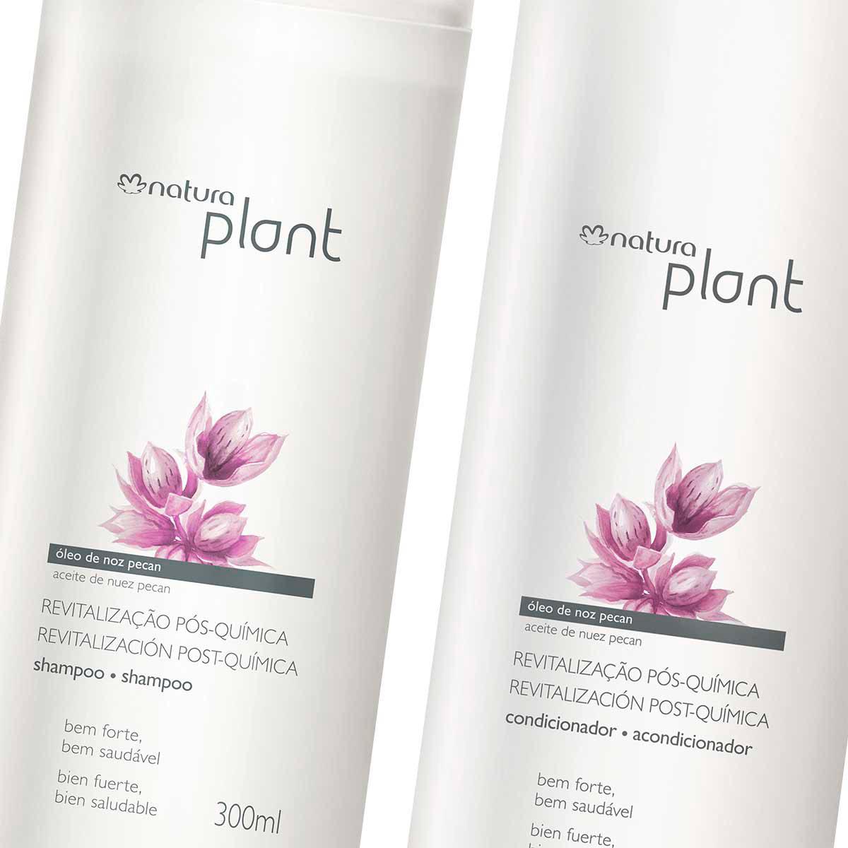 Combo Natura Plant Revitalização Pós-química - 87007