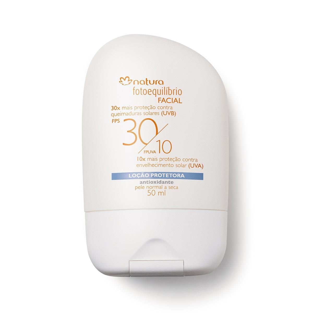Loção Protetora Facial Pele Normal a Seca Fotoequilíbrio FPS30/FPUVA 10 - 50ml - 55978