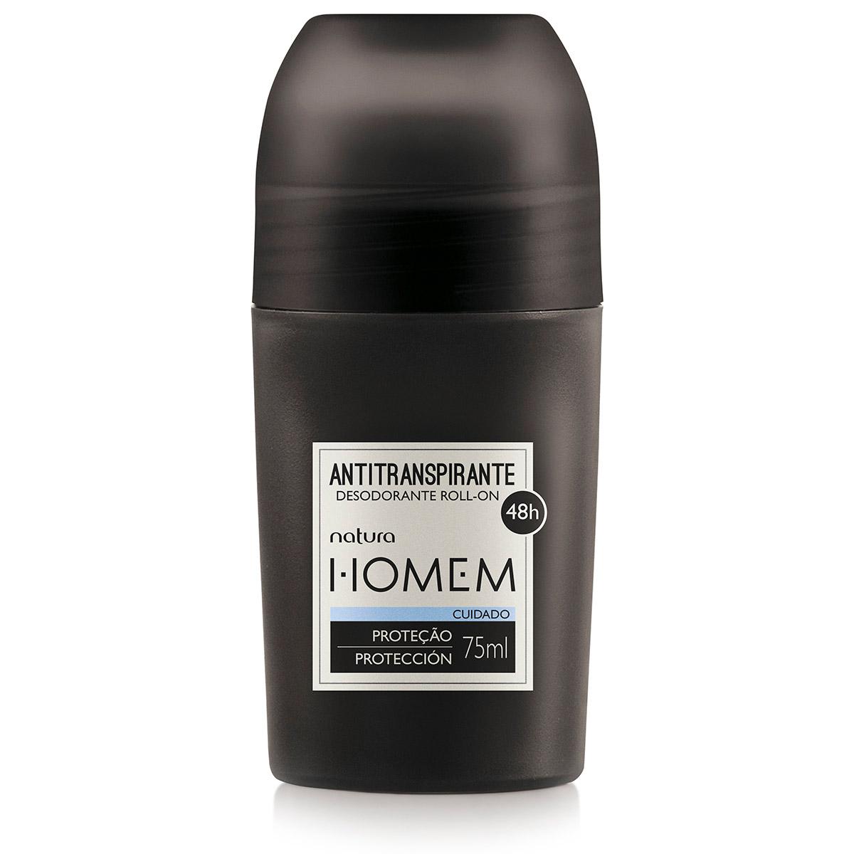 Desodorante Antitranspirante Roll-on Natura Homem - 75 ml - 64389