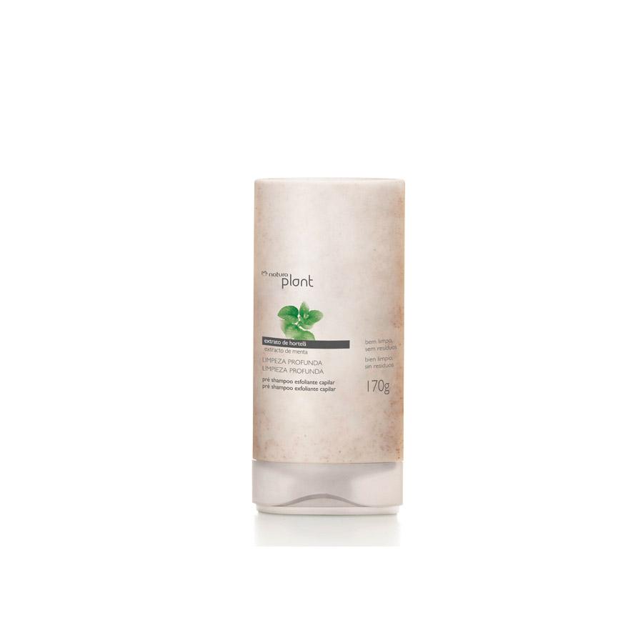 Pré Shampoo Esfoliante Limpeza Profunda Plant - 170g - 43481